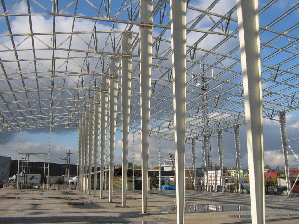 Structure m tallique pour construction entrep t tap for Structure metallique architecture